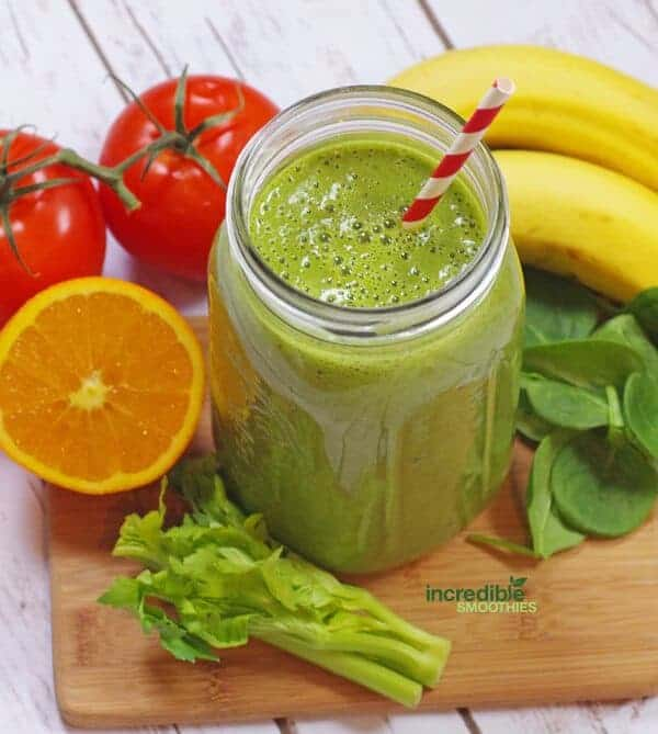 Pineapple Chai Green Smoothie Recipe