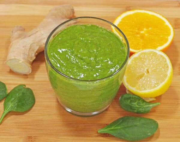 Cold and Flu Green Smoothie Recipe