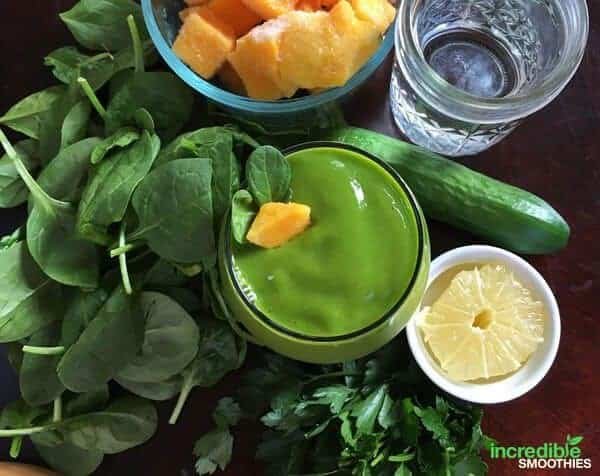 Mean Green Smoothie Rezept
