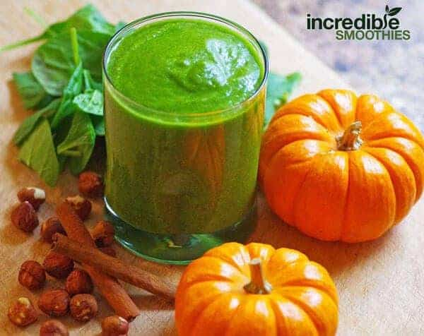 Pumpkin Spiced Green Smoothie Recipe