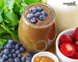 Acai with Strawberry and Blueberry Smoothie Recipe