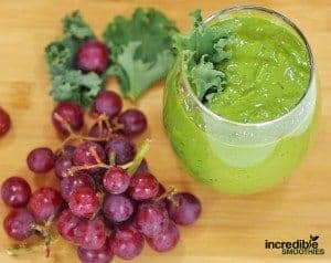 Chia Seed-Red Grape Smoothie