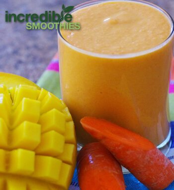 Mango-Carrot Smoothie Recipe