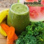 Watermelon-Kale Detox Green Smoothie Recipe