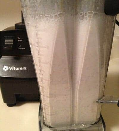 how to make almond milk froth