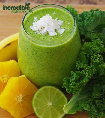 Coconut Kale Smoothie Recipe