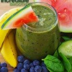 Blueberry-Watermelon Green Smoothie Recipe