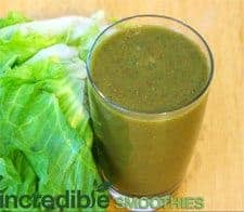 Cantalope green smoothie