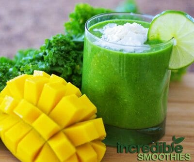 Mango-Lime Green Smoothie Recipe