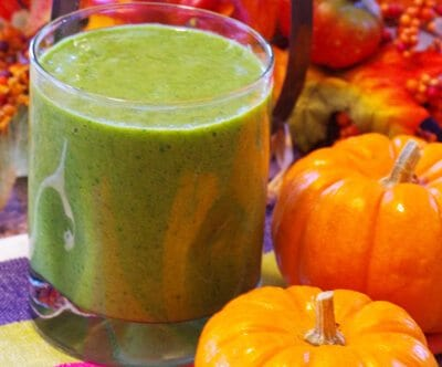 Pumpkin-Avocado Green Smoothie Recipe