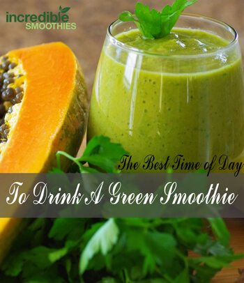The-Best-Time-To-Drink-A-Green-Smoothie