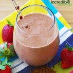 Strawberry-Coffee Smoothie