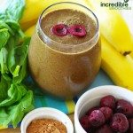 Chocolate Covered Cherry Green Smoothie Recipe