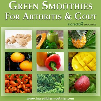 Green Smoothies For Arthritis and Gout
