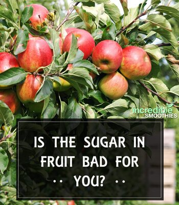 Is the sugar in fruit bad for you?