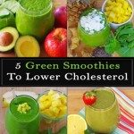 5 Green Smoothies To Lower Cholesterol