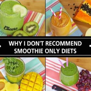 Smoothie only diet