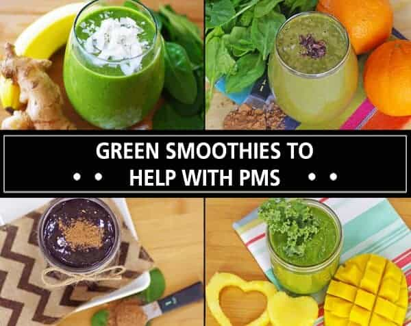 Green Smoothies To Help With PMS