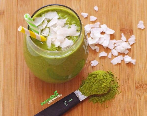 Coconut Matcha Green Smoothie Recipe