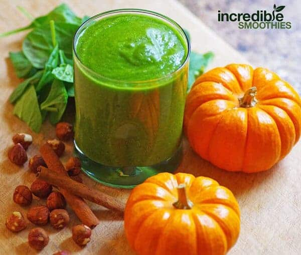 Pumpkin Spiced Green Smoothie