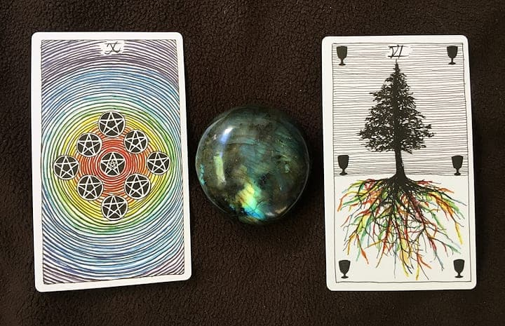 10 of Pentacles & 6 of Cups Meaning (Tarot Tuesday